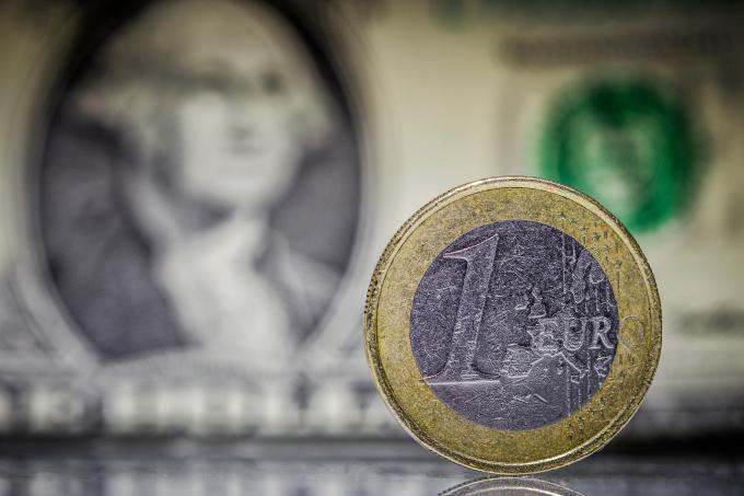 Euro Dollar Bill